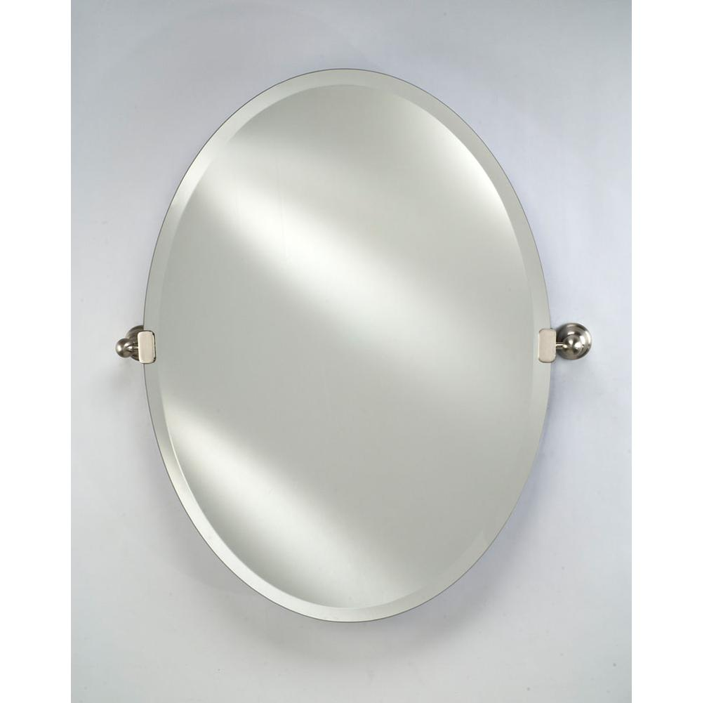 Afina Corporation Oval Mirrors item RM-332-PN-C
