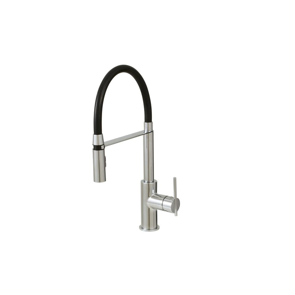 Pulldown kitchen faucet Aquabrass Zest | Grove Supply Inc ...