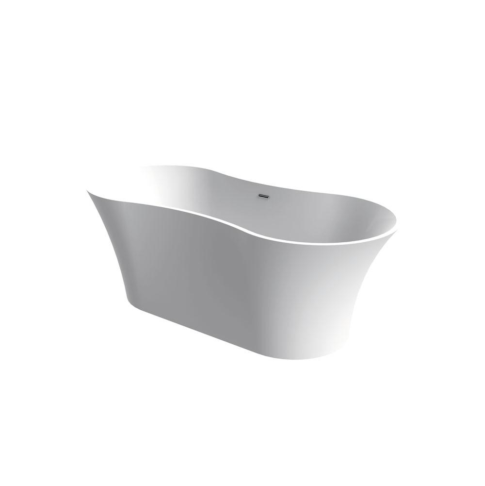 Aquabrass Free Standing Soaking Tubs item ABBTB0001WHGL