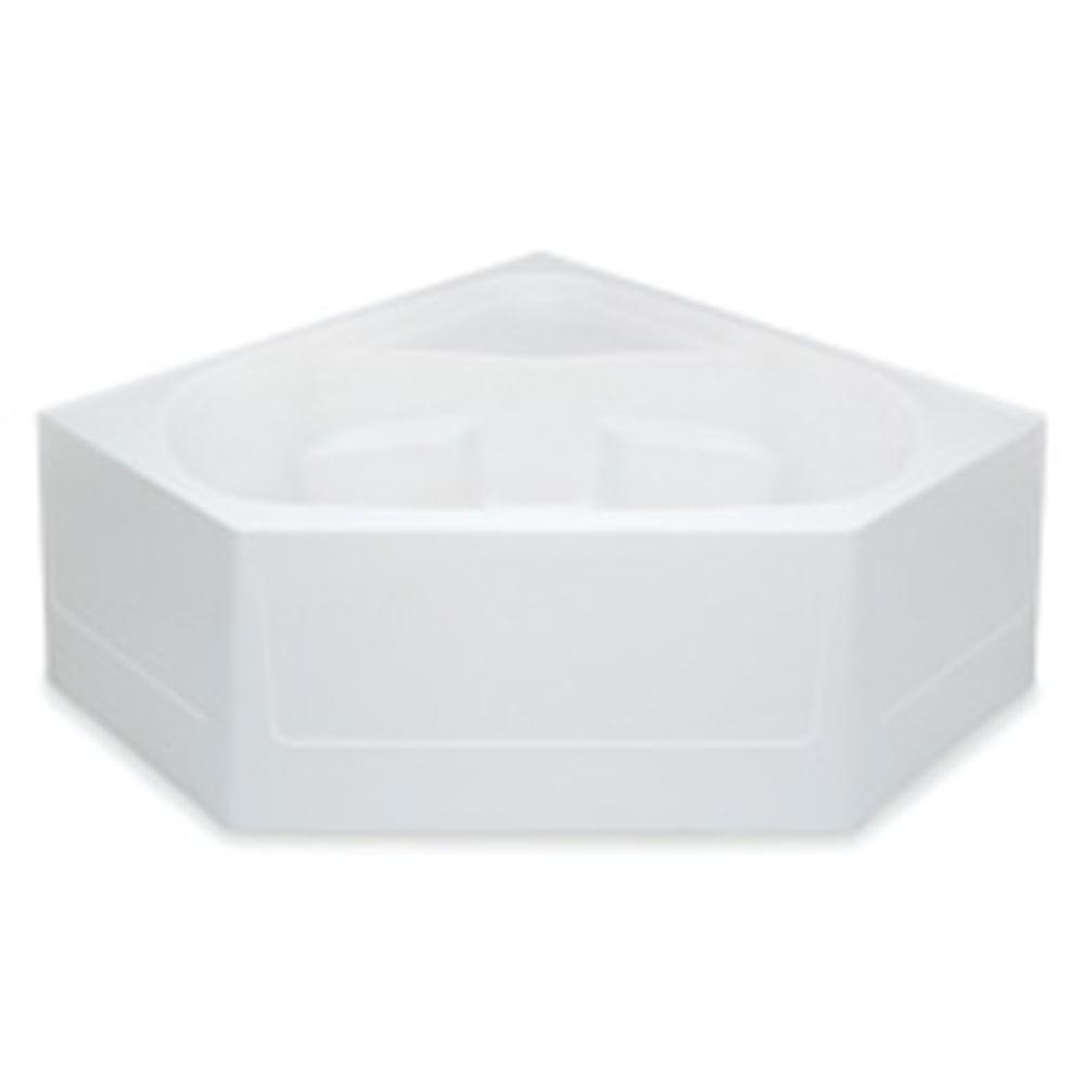 Aquatic Corner Whirlpool Bathtubs item 2600CCSWP-WH