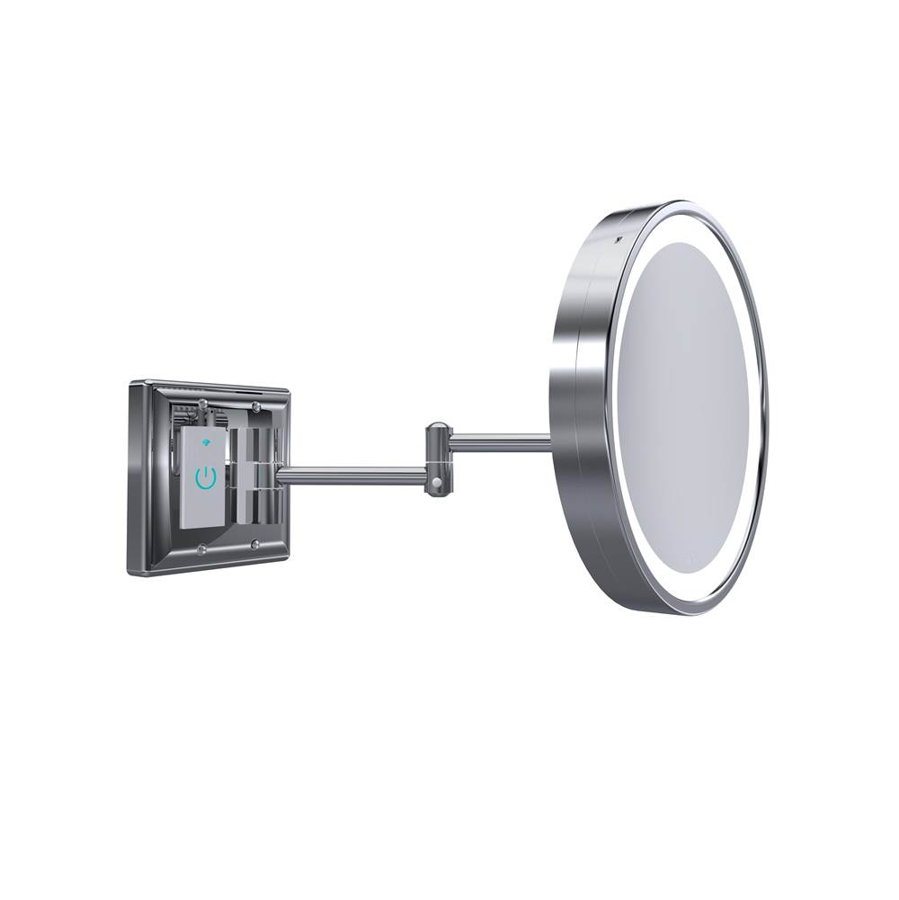 Baci Mirrors Magnifying Mirrors Bathroom Accessories item BSR-SMT-30-CHR