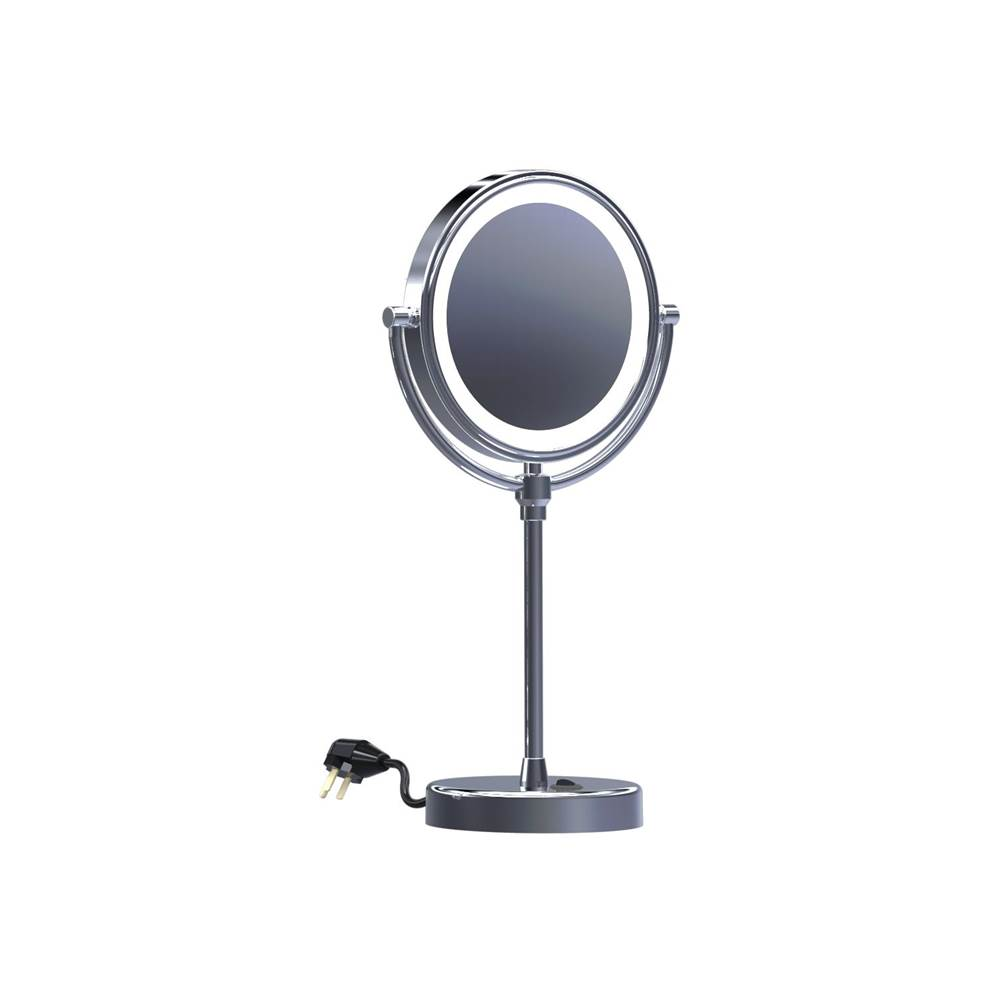 Baci Mirrors Magnifying Mirrors Bathroom Accessories item EH140-CHR