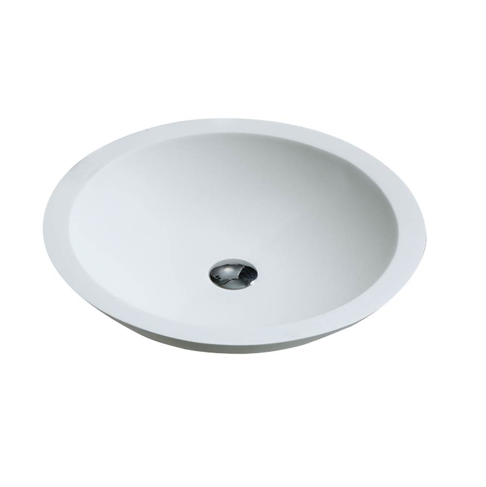 Barclay Vessel Bathroom Sinks item 7-514WH