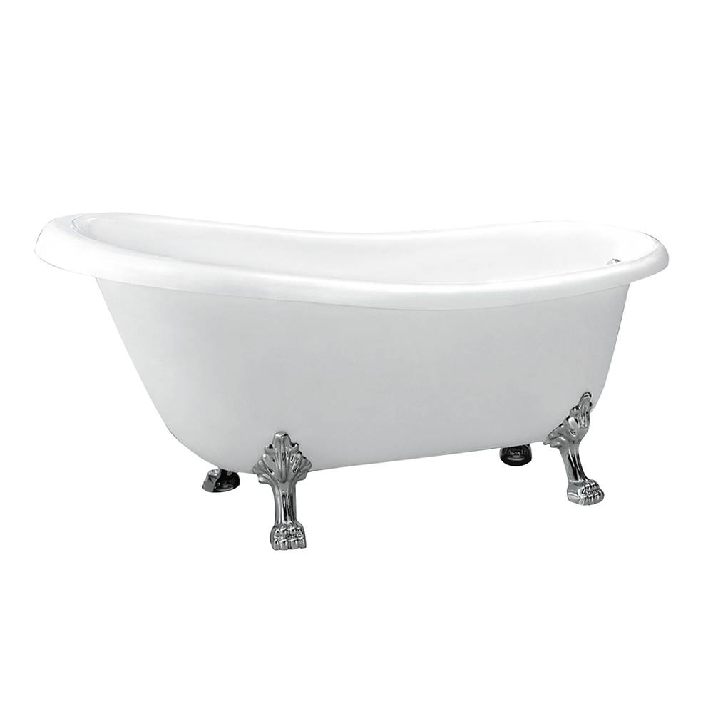 Barclay Clawfoot Soaking Tubs item ASN67LPS-WH-BN