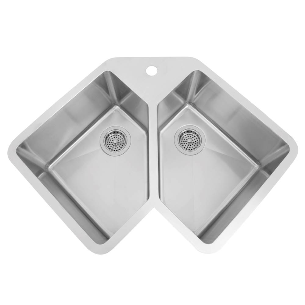 Barclay Undermount Kitchen Sinks item KSSDB2540-SS