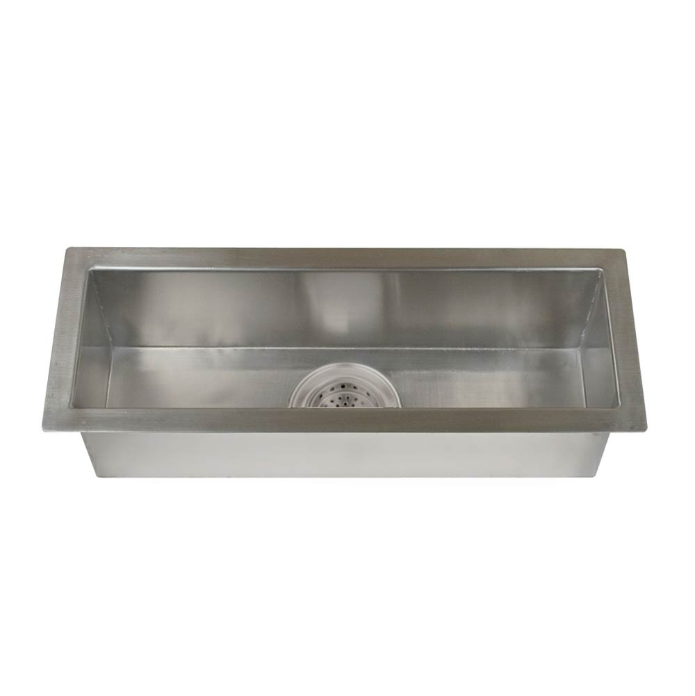 Barclay Lavatory Console Bathroom Sinks item TSSSB2126-SS