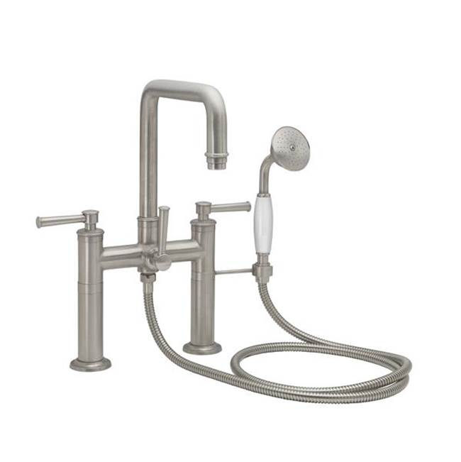 California Faucets Deck Mount Tub Fillers item 1408-CLEV.18-BNU