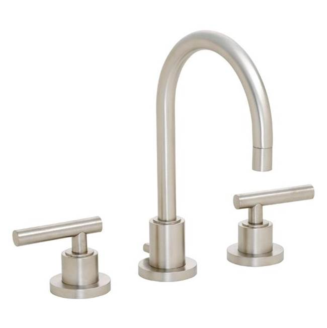 California Faucets Widespread Bathroom Sink Faucets item 6602ZBF-MBLK