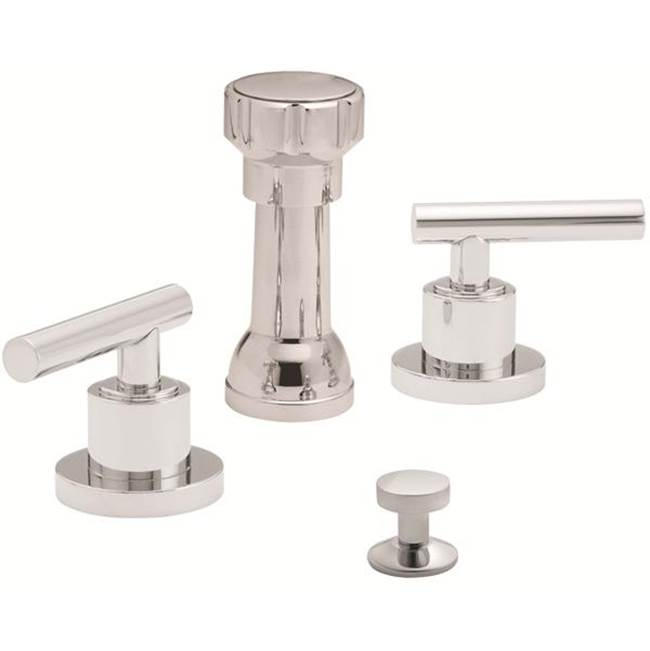 California Faucets  Bidet Faucets item 6604-SBZ