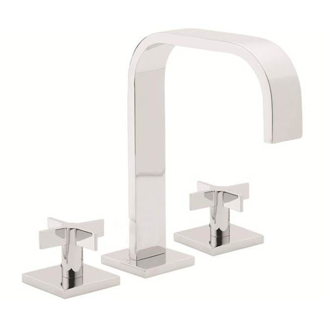 California Faucets Widespread Bathroom Sink Faucets item 7202ZBF-SRB