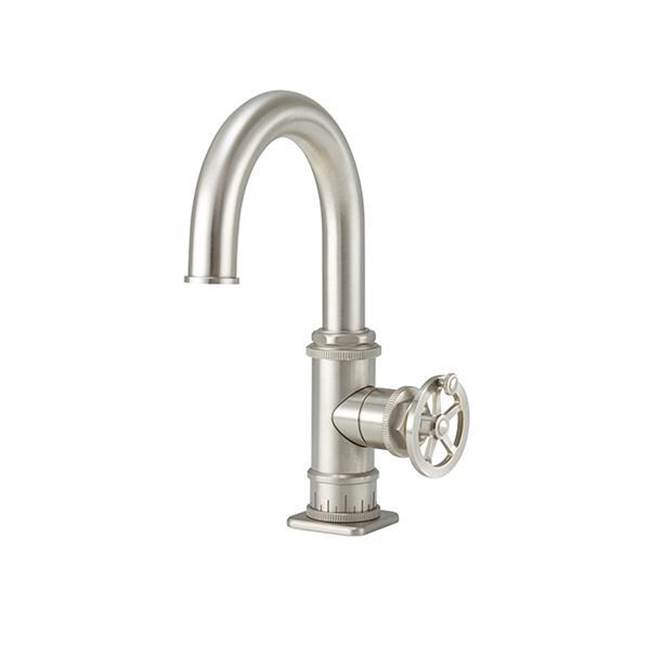 California Faucets Single Hole Bathroom Sink Faucets item 8609W-1ZBF-LSG