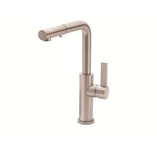 California Faucets Pull Out Faucet Kitchen Faucets item K51-110-FB-BBU