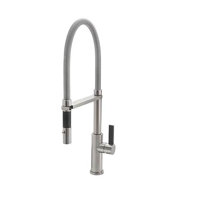 California Faucets Pull Out Faucet Kitchen Faucets item K51-150-XX-BBU