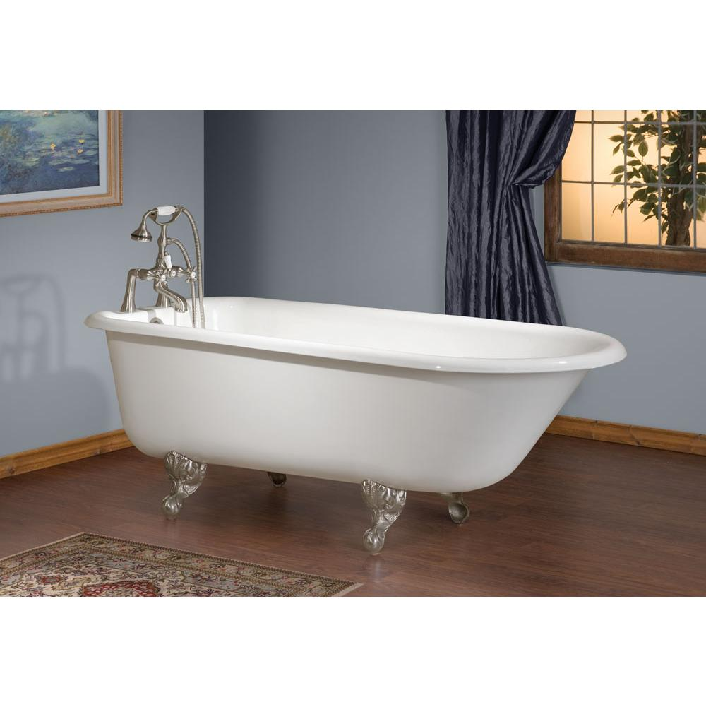 Cheviot Products Clawfoot Soaking Tubs item 2105-WC-7-WH