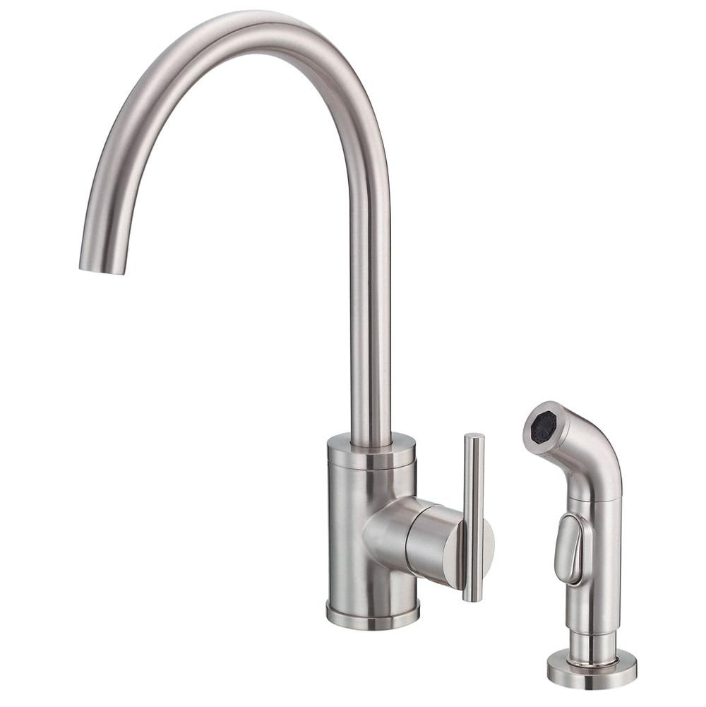 Danze Single Hole Kitchen Faucets item D401058SS
