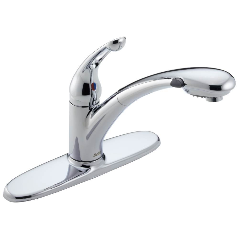 Delta Faucet Deck Mount Kitchen Faucets item 472-DST