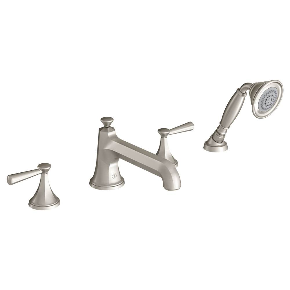 DXV Deck Mount Roman Tub Faucets With Hand Showers item D35160900.144