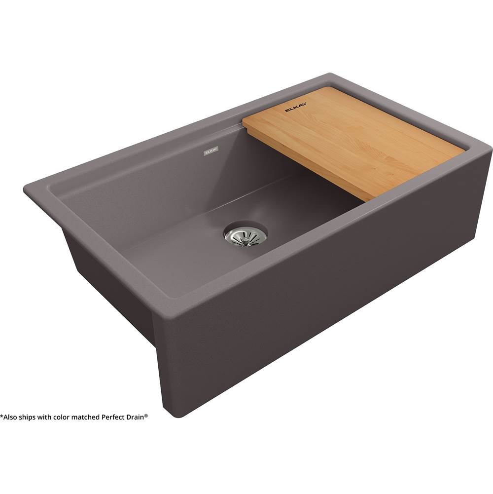 Elkay Reserve Selection Farmhouse Kitchen Sinks item ELXUFP362010SM0