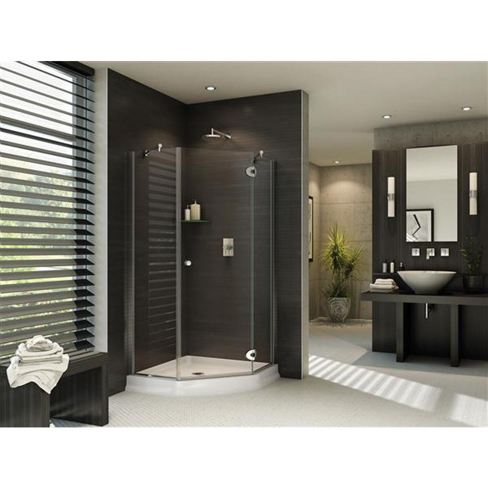 Fleurco Corner Shower Doors item PMXNA38-33-40-79