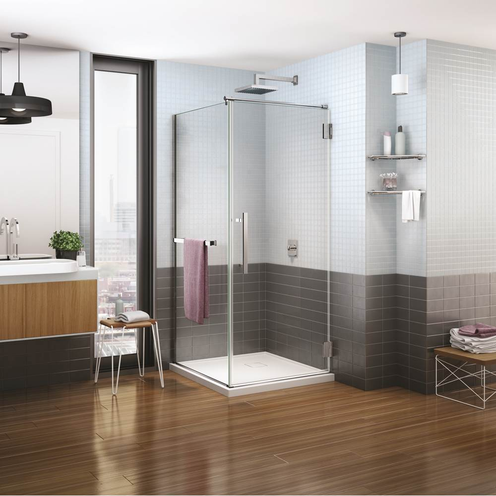 Fleurco Corner Shower Doors item PXQ3232-11-40L-QAY-79