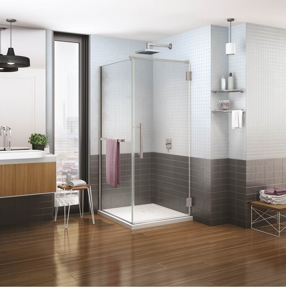 Fleurco Corner Shower Doors item PXQ3632-25-40L-TBH-79