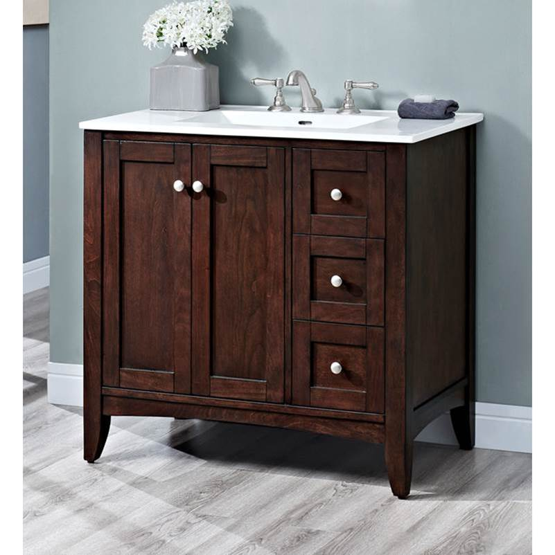 Fairmont Designs Floor Mount Vanities item 1513-V36R