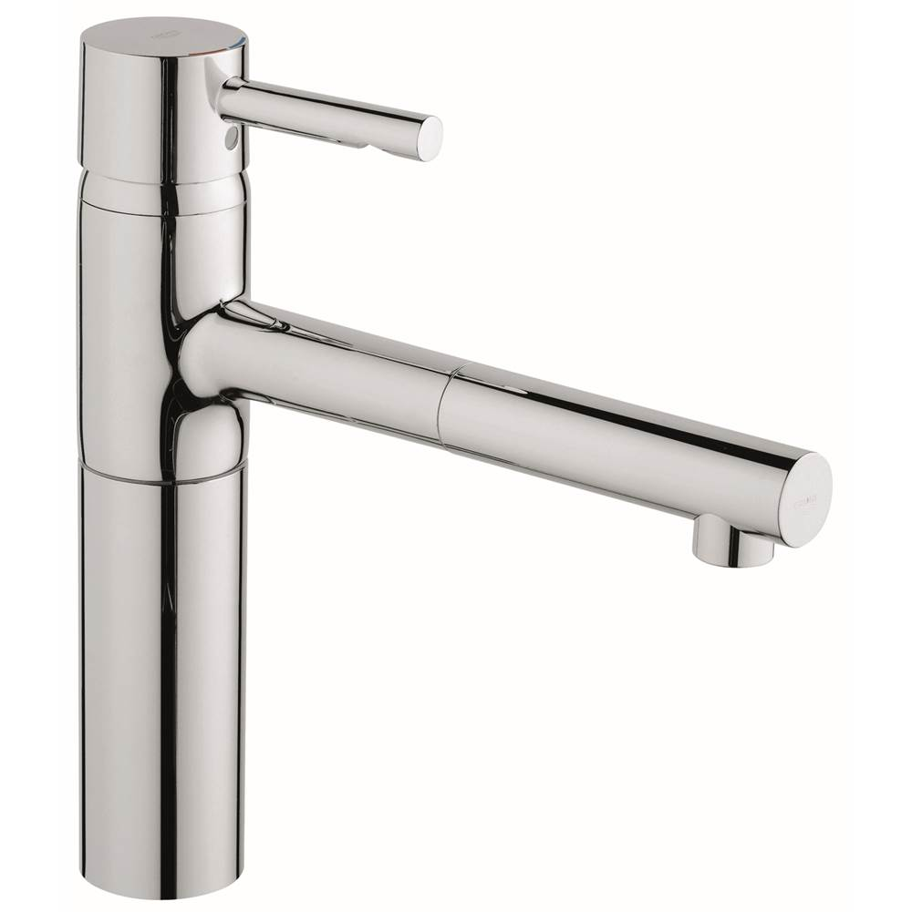 Grohe   32170000   Essence Single Handle Pull Out Kitchen Faucet