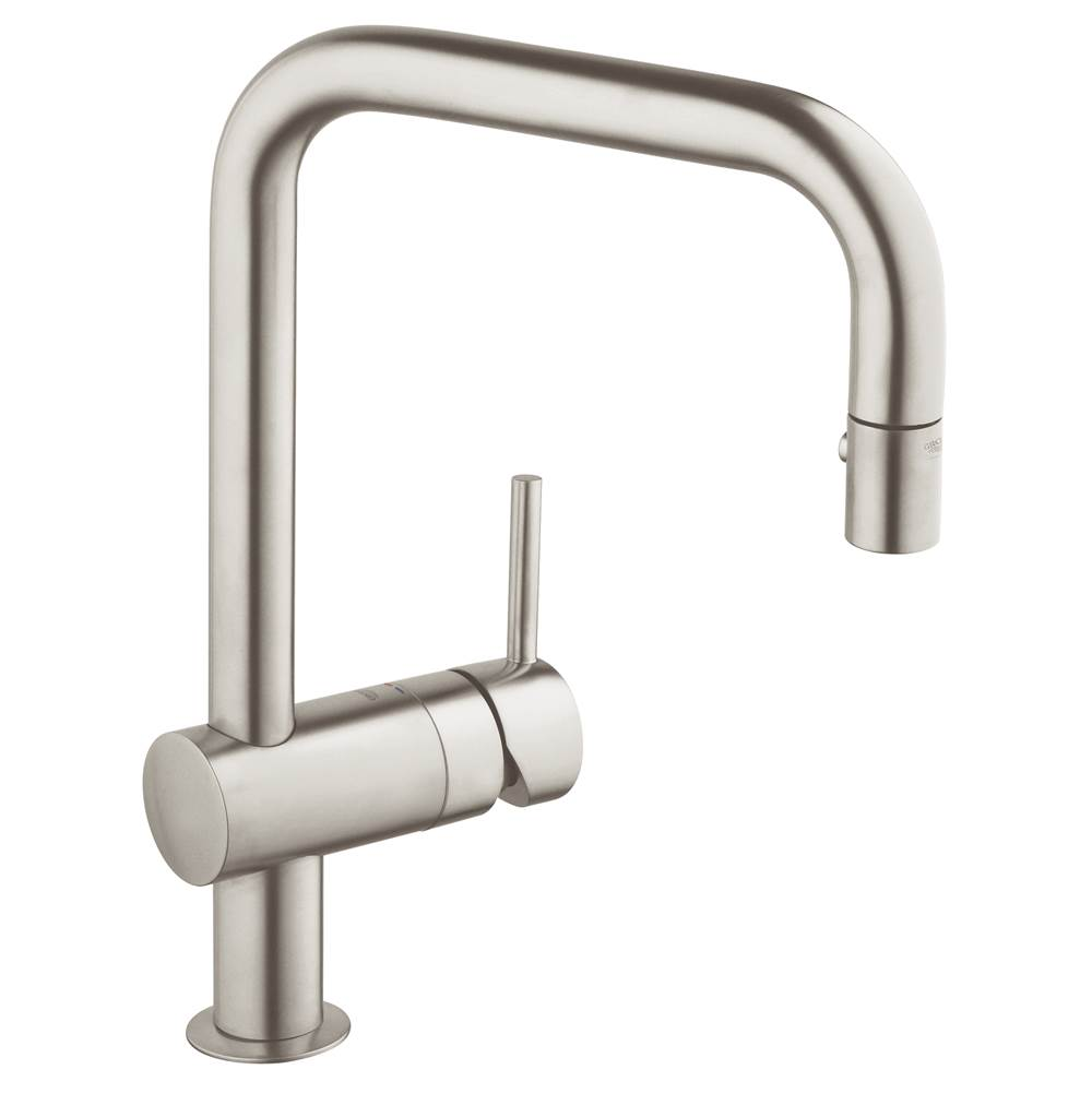 Grohe   32319DC0   Minta Single Handle Pull Down Kitchen Faucet