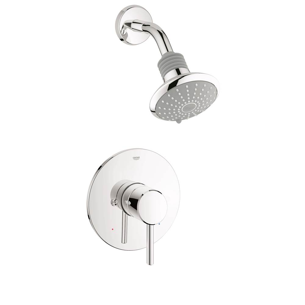Grohe Shower Only Faucets With Head | Grove Supply Inc ...