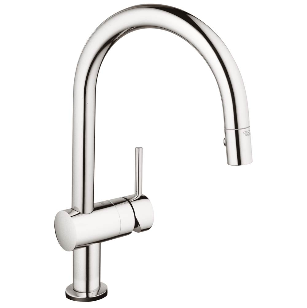 Nice Grohe 31359000 At Grove Supply Inc. Serving The Delaware Valley,  Philadelphia, And South Jersey Single Hole Kitchen Faucets In A Decorative  Starlight Chrome ...