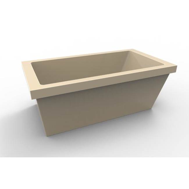 Hydro Systems Free Standing Soaking Tubs item LUC6636ATO-BON