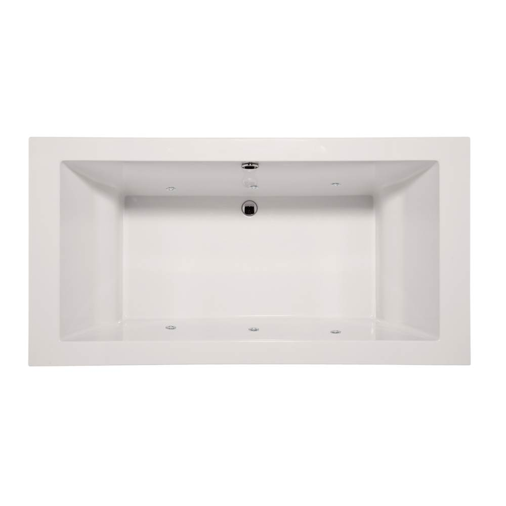 Hydro Systems Drop In Whirlpool Bathtubs item MEN7036AWP-WHI