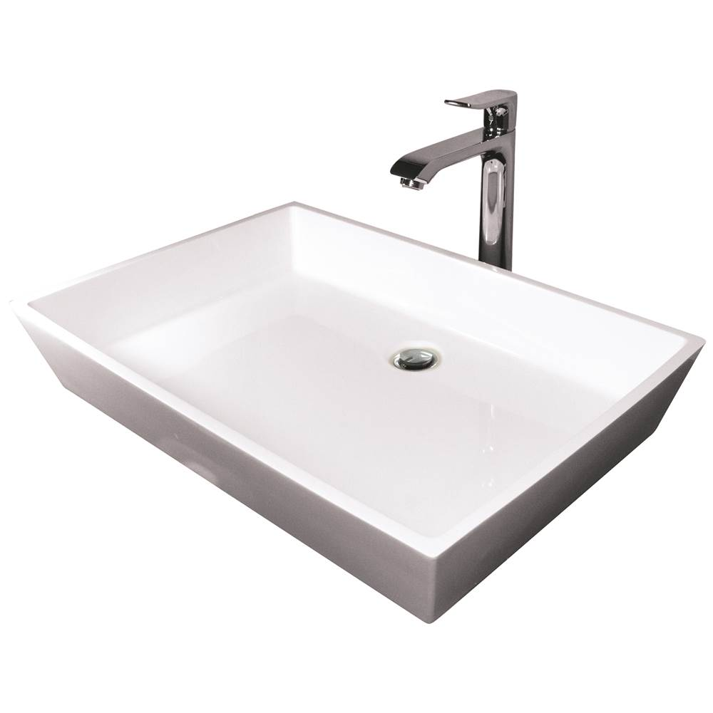 Hydro Systems Lavatory Console Bathroom Sinks item BLO2218SSS-ALM