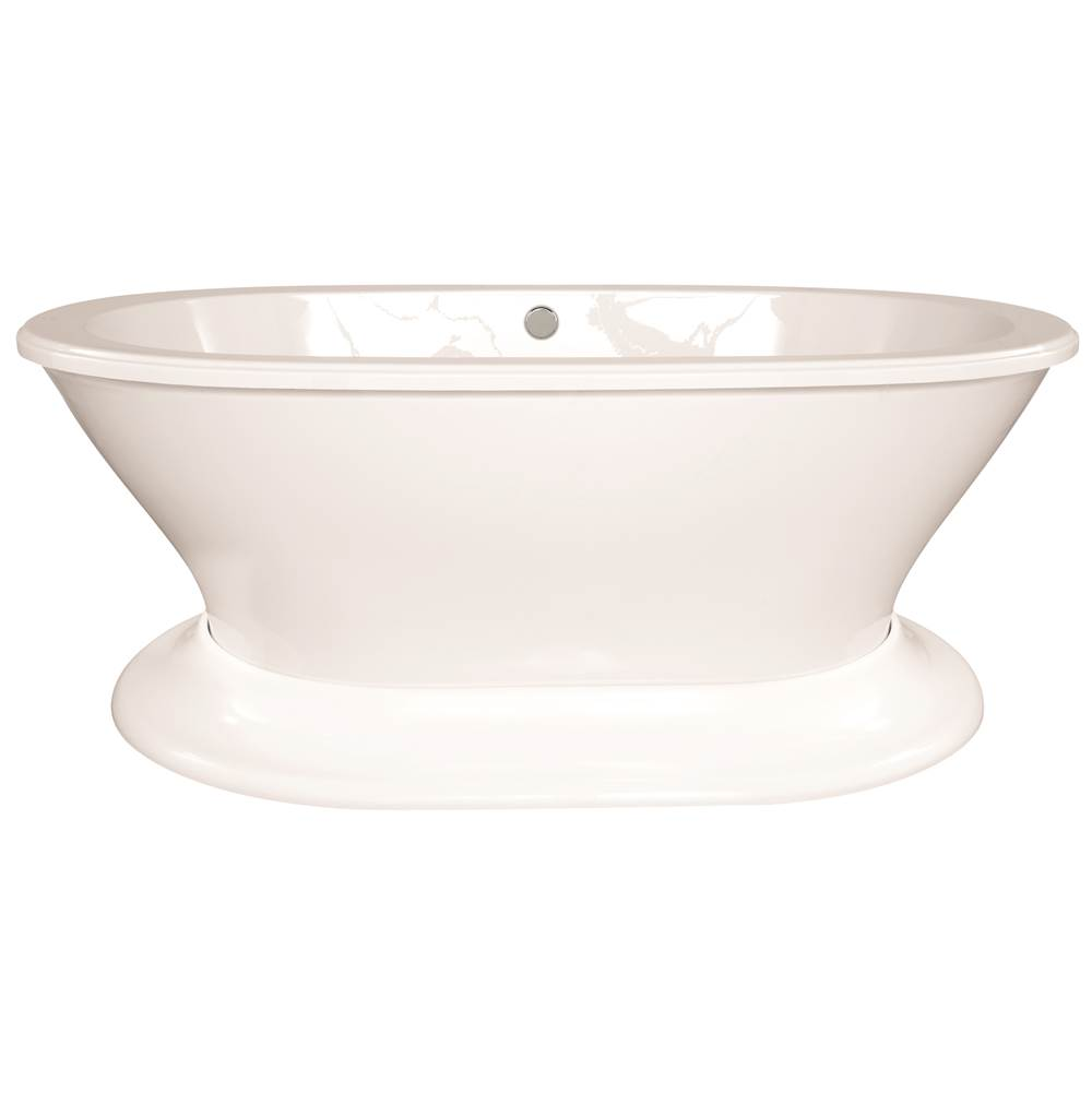 Hydro Systems Free Standing Air Bathtubs item SOP7040ATA-WHI