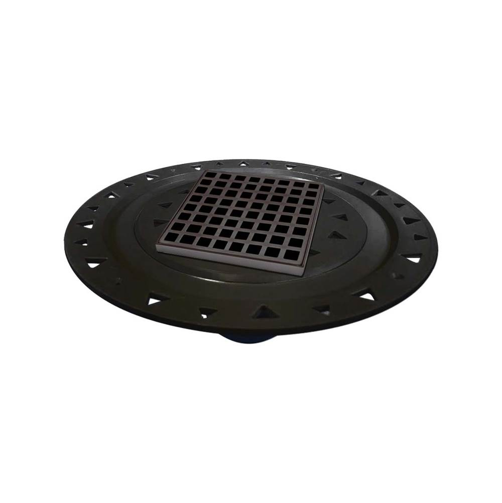 Infinity Drain Flanged Commercial Drainage item QDB 5-A ORB