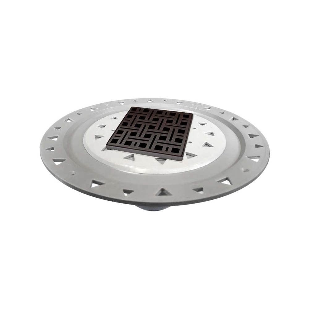 Infinity Drain Flanged Commercial Drainage item VDB 4-P ORB