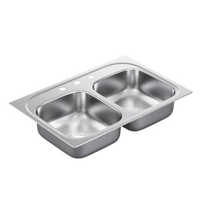 Moen Drop In Kitchen Sinks item BG222173