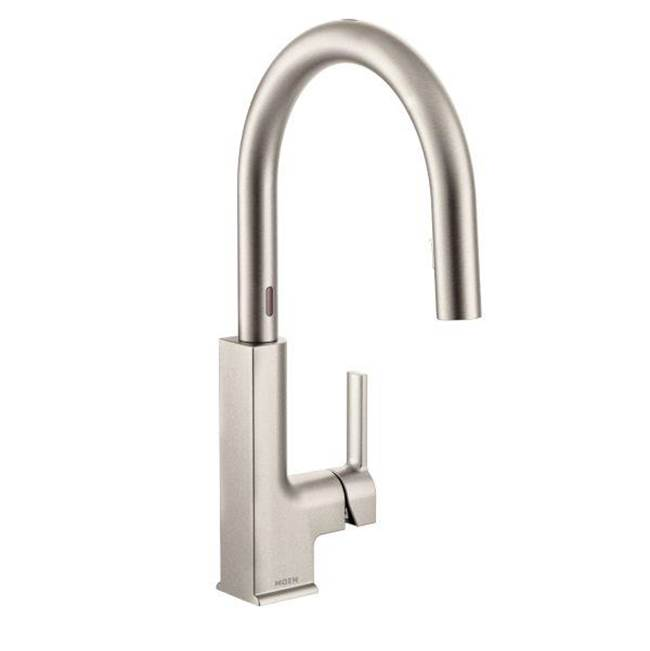 Pulldown kitchen faucet Pewter | Grove Supply Inc. - Philadelphia ...
