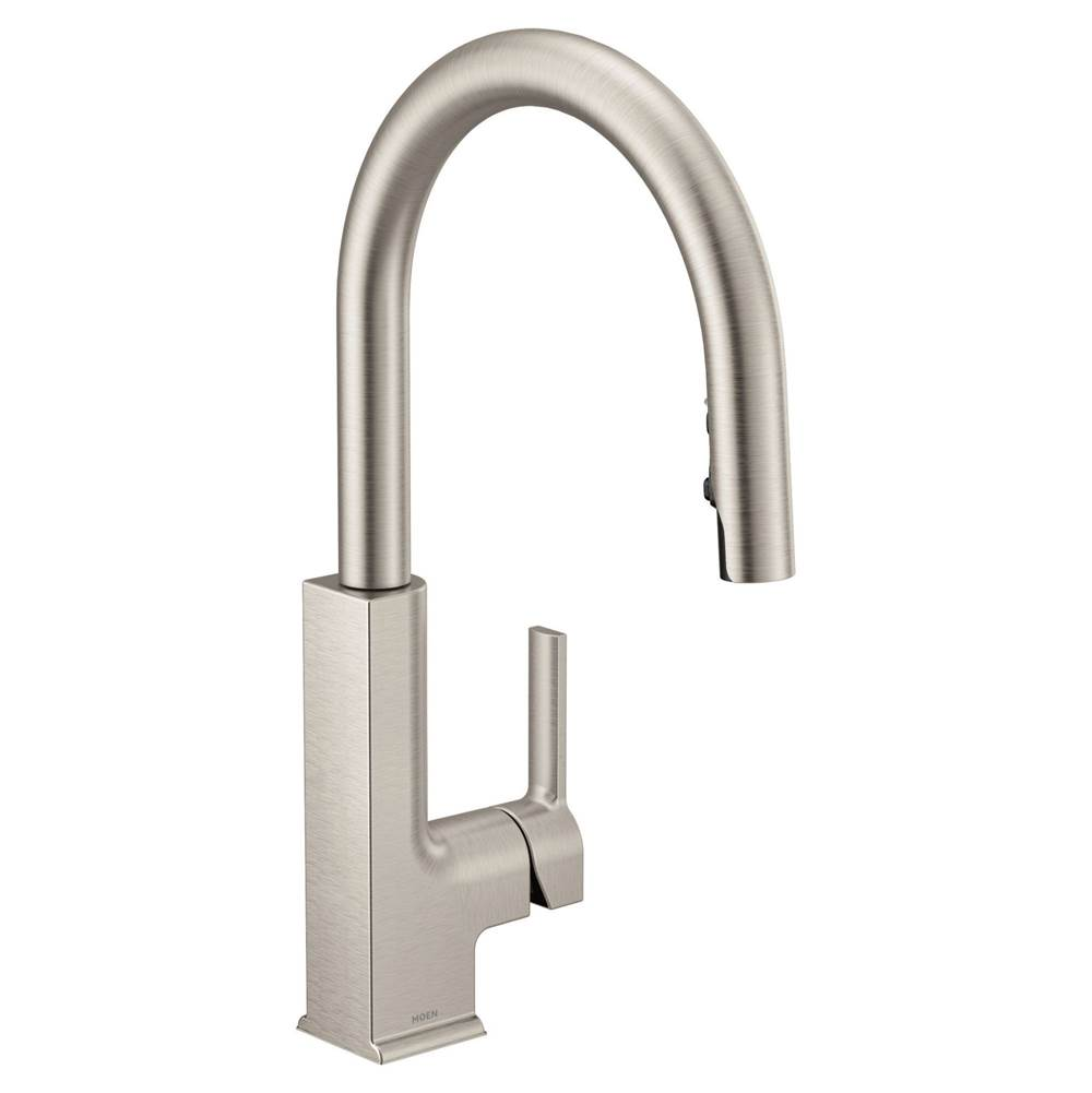 Pulldown Kitchen Faucet Moen Grove Supply Inc Philadelphia