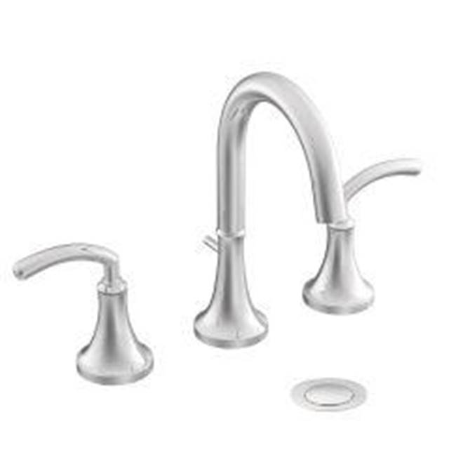 Moen Bathroom Bathroom Sink Faucets Widespread | Grove Supply Inc ...