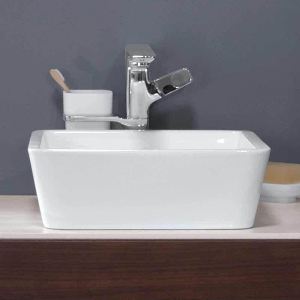 Ronbow Vessel Bathroom Sinks item E032001-WH
