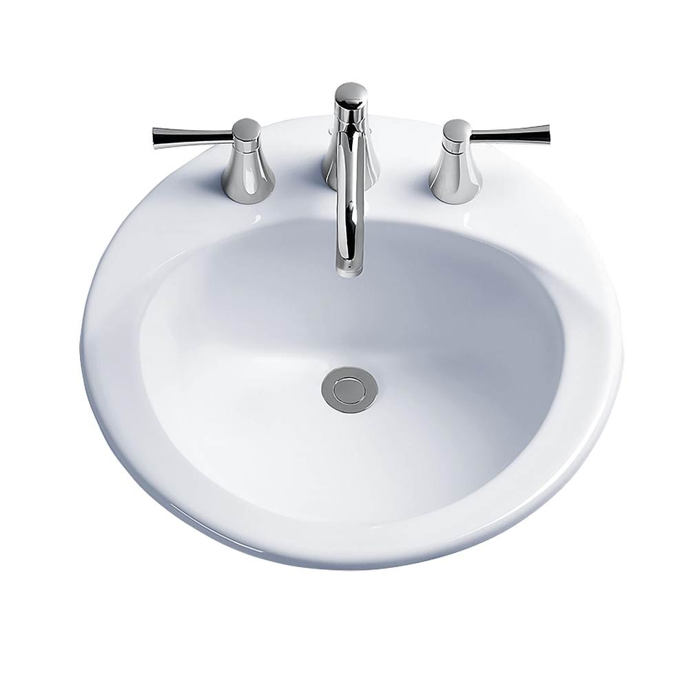 Toto Drop In Bathroom Sinks item LT512G#12