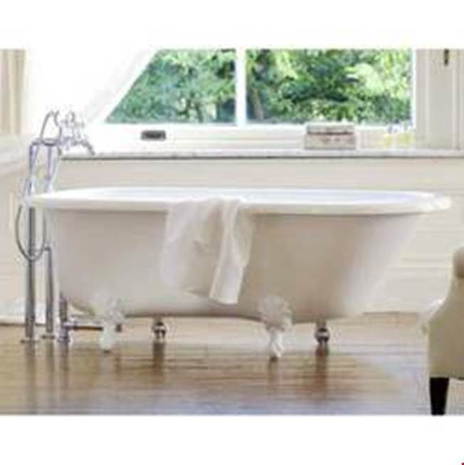 Victoria And Albert Clawfoot Soaking Tubs item WES-N-xx-OF + FT-HAM-BN