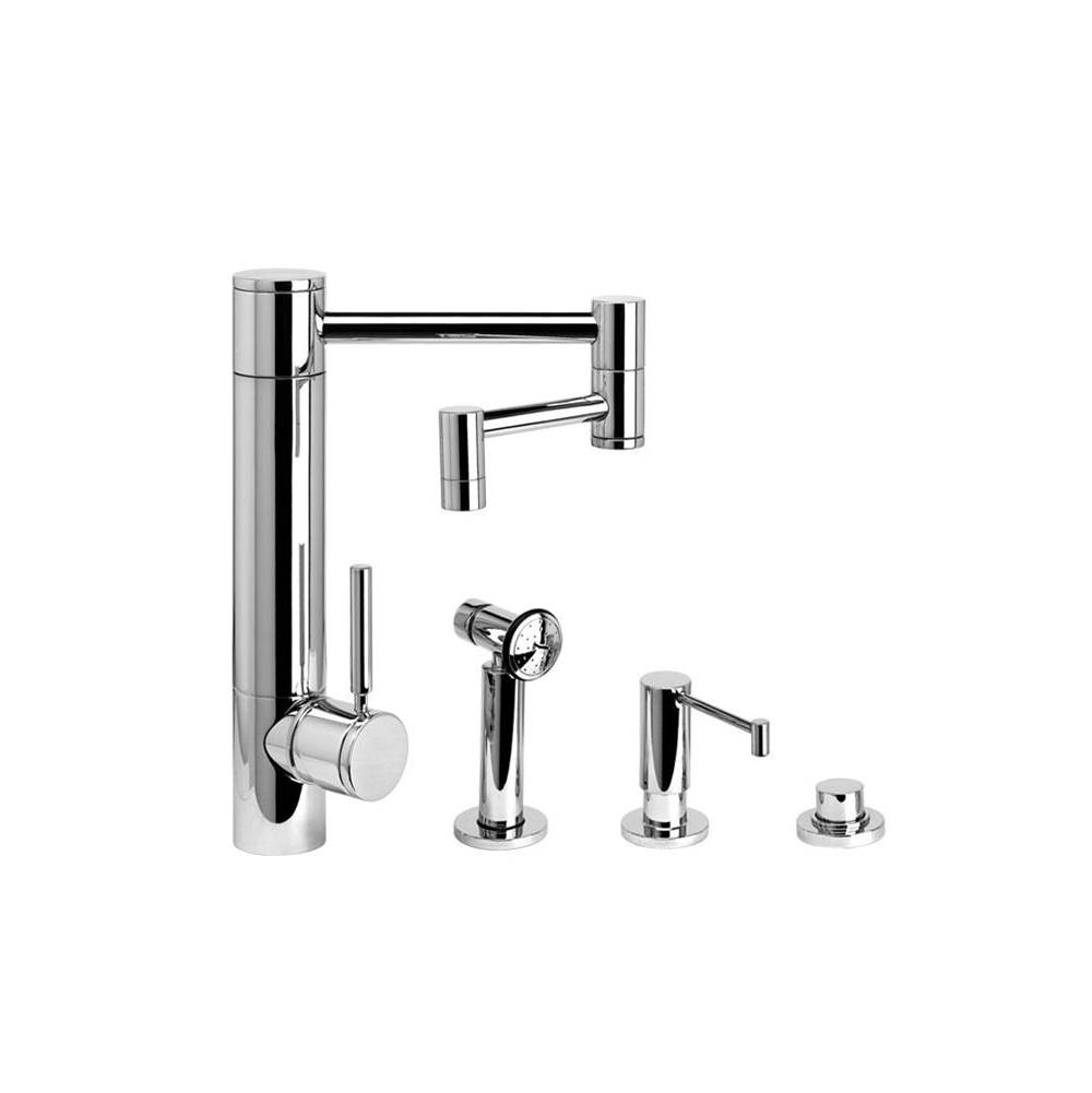 Waterstone Single Hole Kitchen Faucets item 3600-12-3-VB