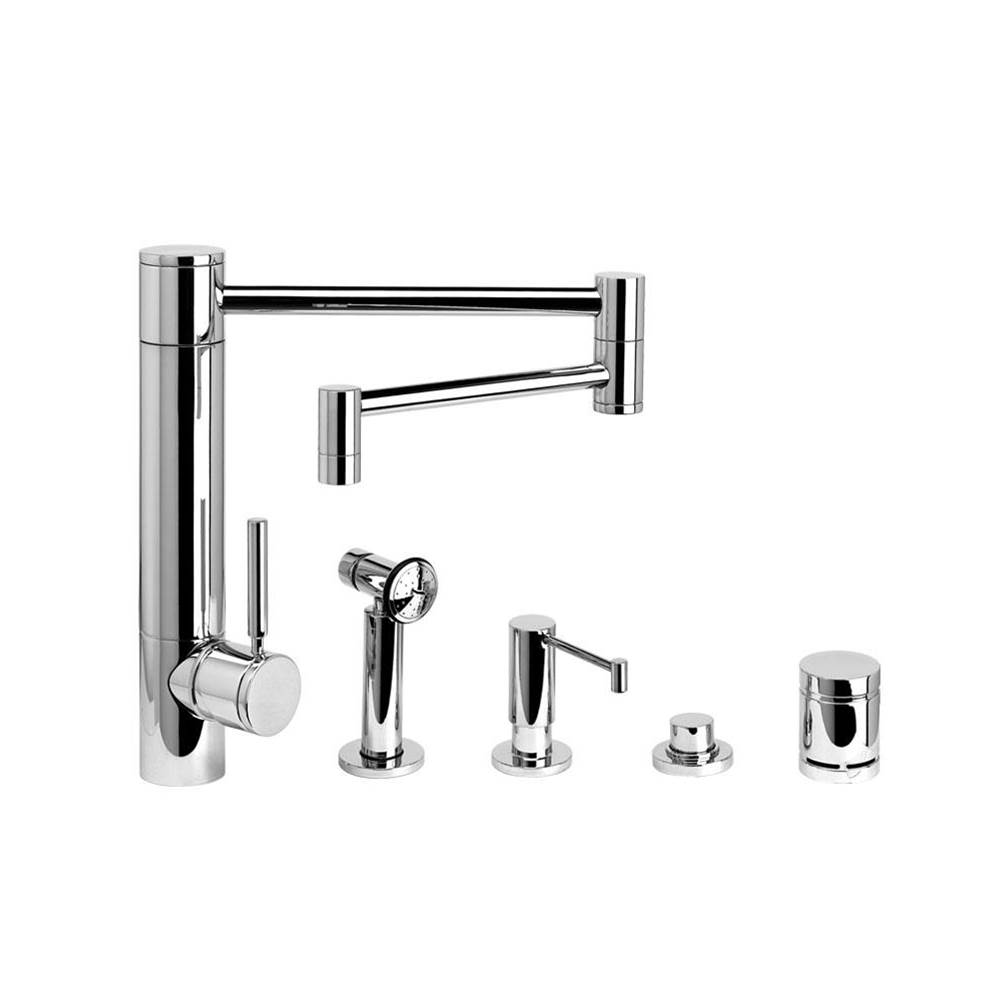 Waterstone Single Hole Kitchen Faucets item 3600-18-4-AC