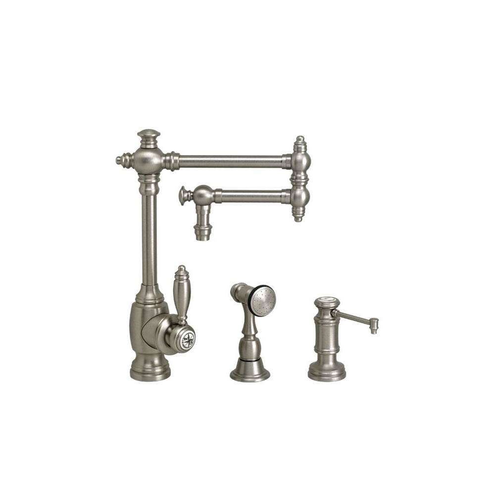 Waterstone Single Hole Kitchen Faucets item 4100-12-2-AP