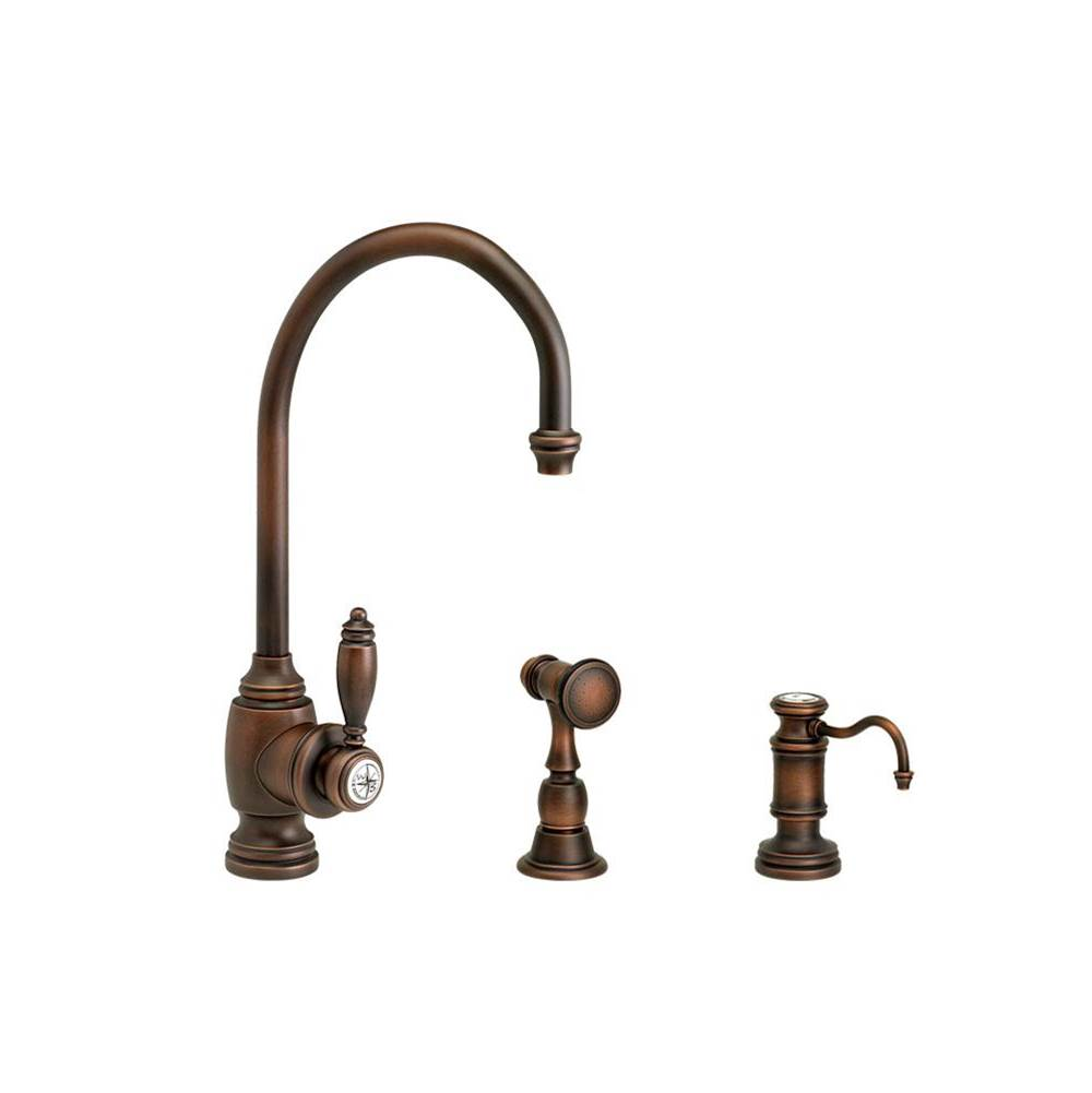 Waterstone Single Hole Kitchen Faucets item 4900-2-ORB