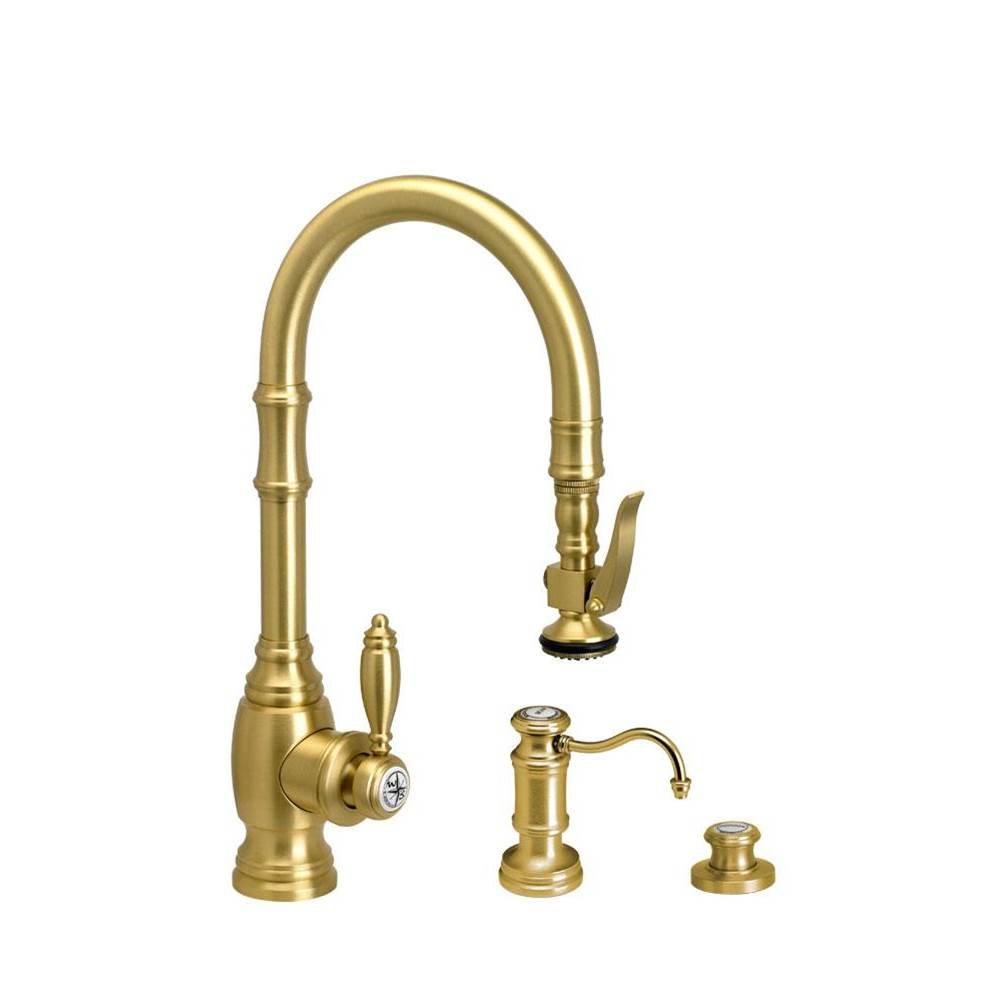 Waterstone Deck Mount Kitchen Faucets item 5200-3-SB