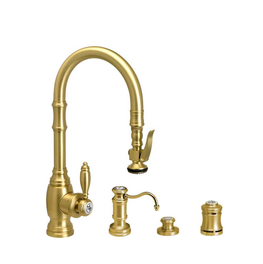 Waterstone Deck Mount Kitchen Faucets item 5200-4-PC