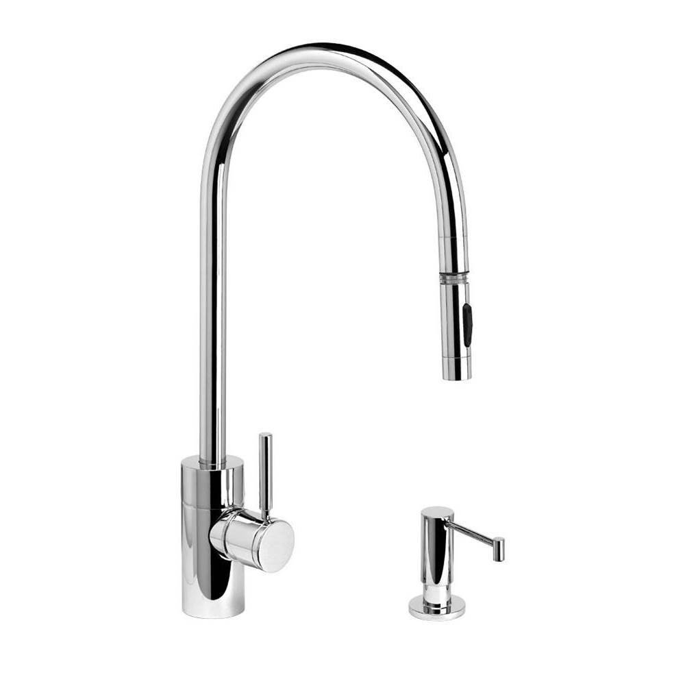 Waterstone Deck Mount Kitchen Faucets item 5300-2-CHB